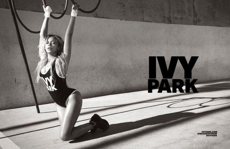 Beyonce in Ivy Park for Topshop