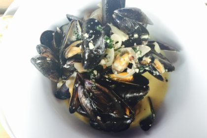 Mussels at River Exe Cafe