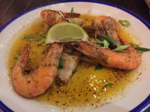 Prawns at Turtle Bay