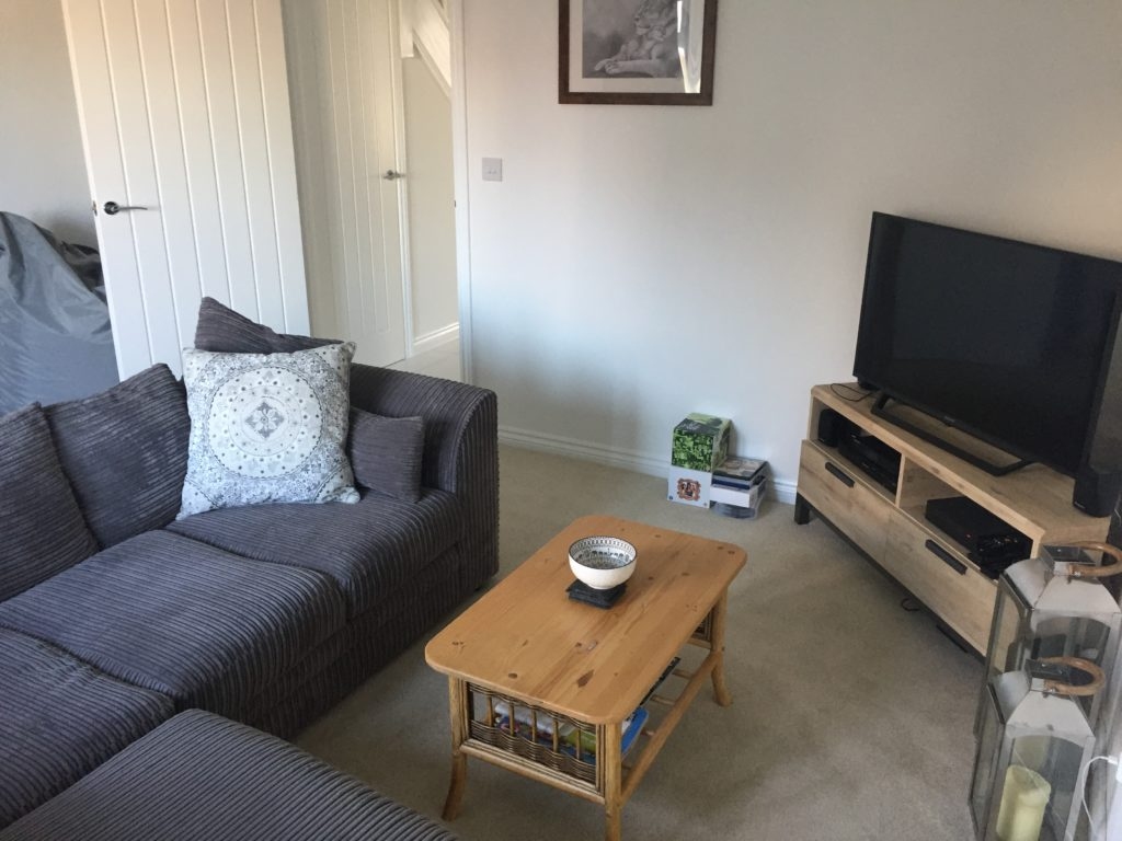 living room in the ashton