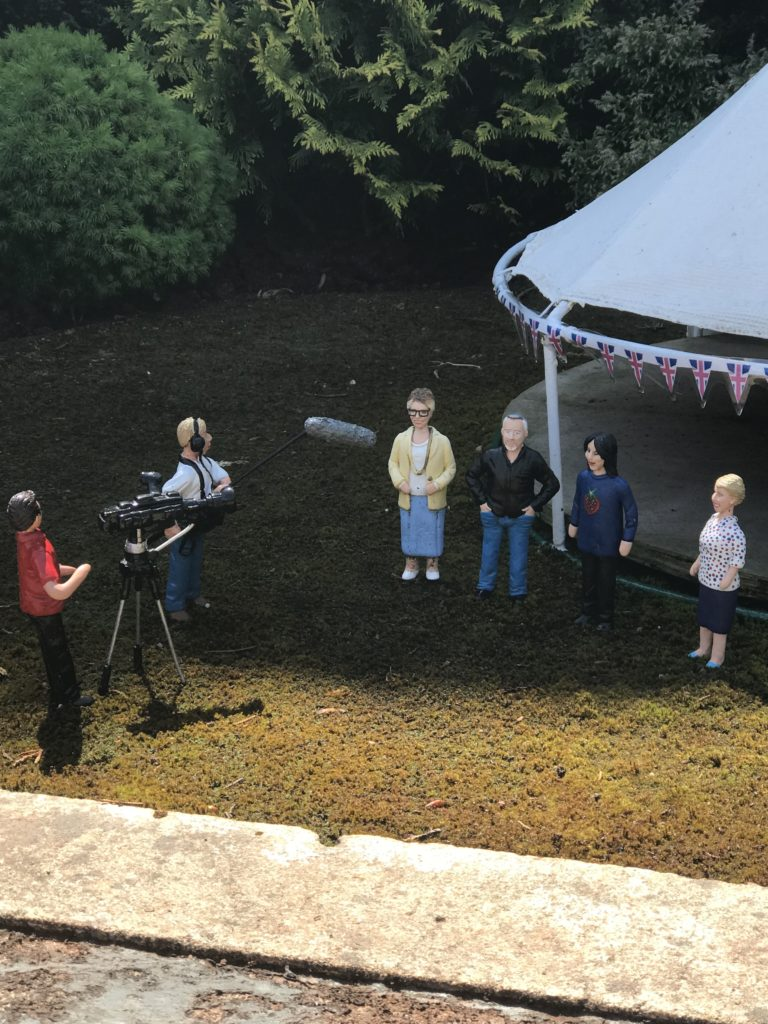 bake off model village