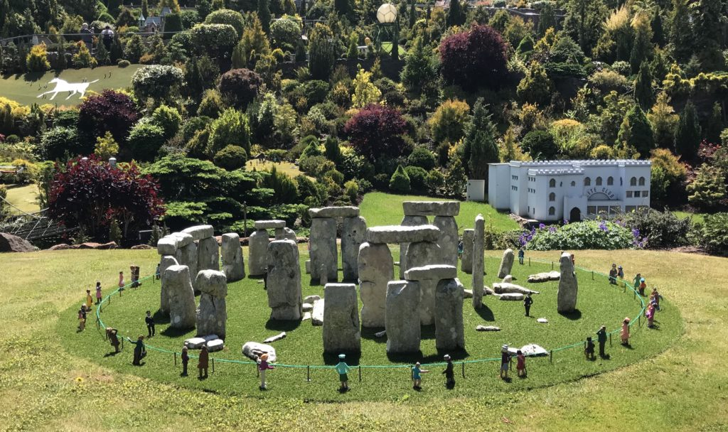 Stonehenge at the babbacombe model village